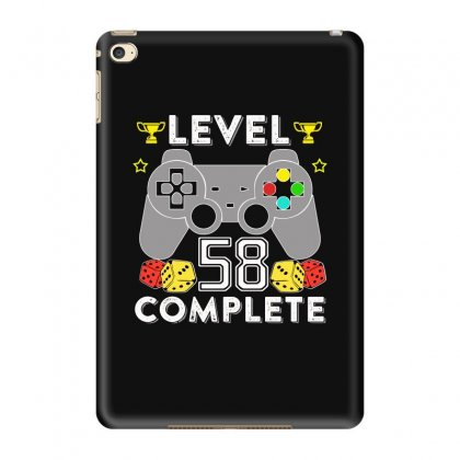Level 58 Complete T Shirt Ipad Mini 4 Case Designed By Hung