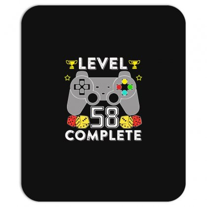 Level 58 Complete T Shirt Mousepad Designed By Hung