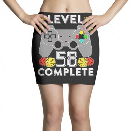 Level 58 Complete T Shirt Mini Skirts Designed By Hung