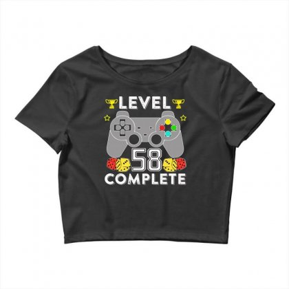 Level 58 Complete T Shirt Crop Top Designed By Hung