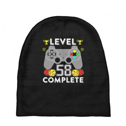 Level 58 Complete T Shirt Baby Beanies Designed By Hung