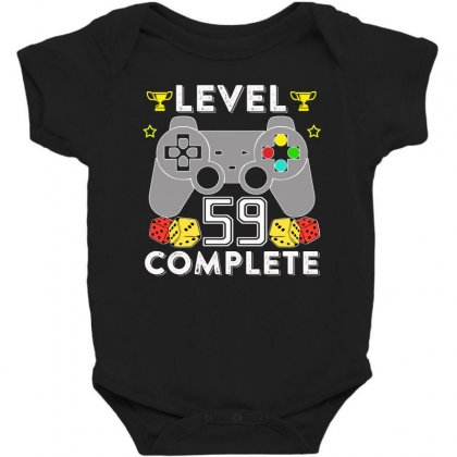 Level 59 Complete T Shirt Baby Bodysuit Designed By Hung