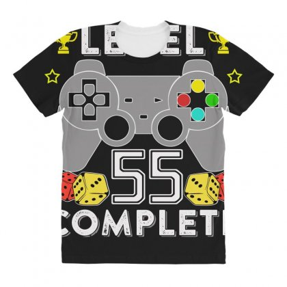 Level 55 Complete T Shirt All Over Women's T-shirt Designed By Hung