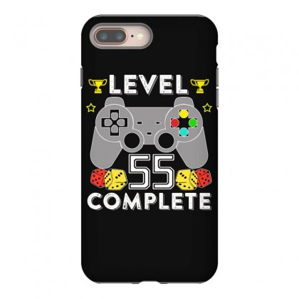 Level 55 Complete T Shirt Iphone 8 Plus Case Designed By Hung