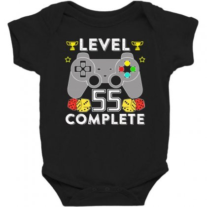 Level 55 Complete T Shirt Baby Bodysuit Designed By Hung