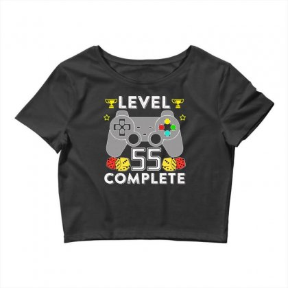 Level 55 Complete T Shirt Crop Top Designed By Hung