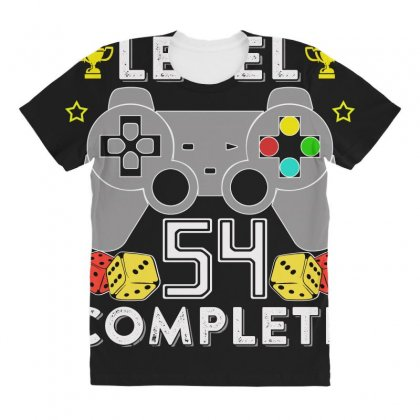 Level 54 Complete T Shirt All Over Women's T-shirt Designed By Hung