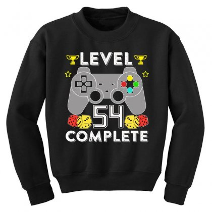 Level 54 Complete T Shirt Youth Sweatshirt Designed By Hung