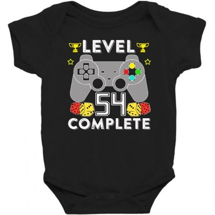 Level 54 Complete T Shirt Baby Bodysuit Designed By Hung