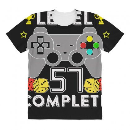 Level 57 Complete T Shirt All Over Women's T-shirt Designed By Hung