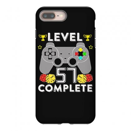 Level 57 Complete T Shirt Iphone 8 Plus Case Designed By Hung
