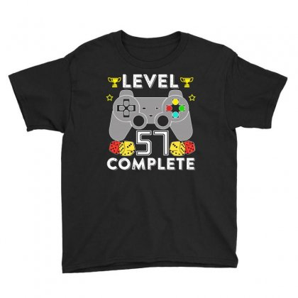 Level 57 Complete T Shirt Youth Tee Designed By Hung