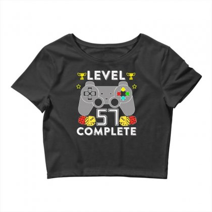 Level 57 Complete T Shirt Crop Top Designed By Hung