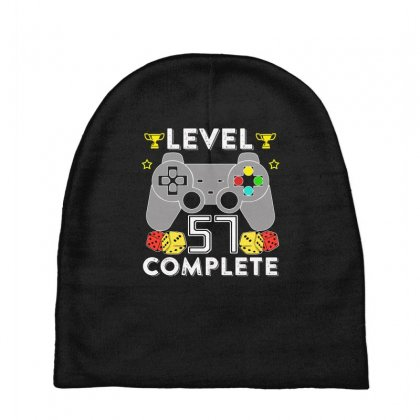 Level 57 Complete T Shirt Baby Beanies Designed By Hung