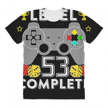 Level 53 Complete T Shirt All Over Women's T-shirt Designed By Hung