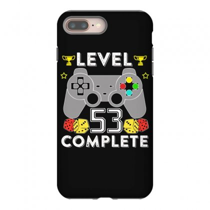 Level 53 Complete T Shirt Iphone 8 Plus Case Designed By Hung