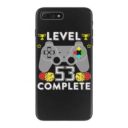 Level 53 Complete T Shirt Iphone 7 Plus Case Designed By Hung