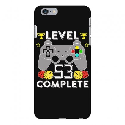 Level 53 Complete T Shirt Iphone 6 Plus/6s Plus Case Designed By Hung