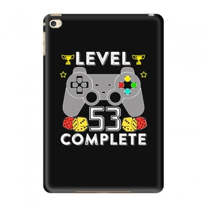 Level 53 Complete T Shirt Ipad Mini 4 Case Designed By Hung