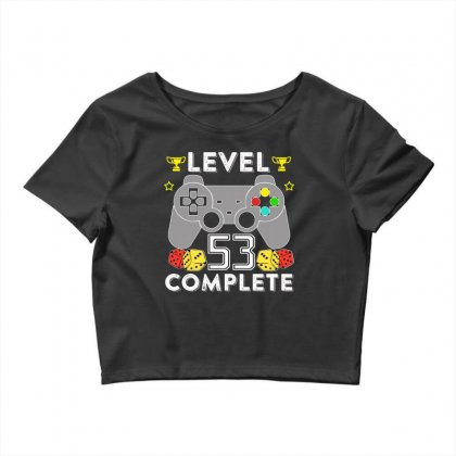 Level 53 Complete T Shirt Crop Top Designed By Hung