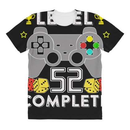 Level 52 Complete T Shirt All Over Women's T-shirt Designed By Hung