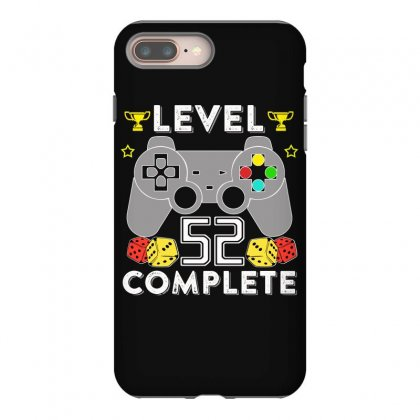 Level 52 Complete T Shirt Iphone 8 Plus Case Designed By Hung
