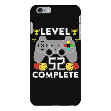 Level 52 Complete T Shirt Iphone 6 Plus/6s Plus Case Designed By Hung