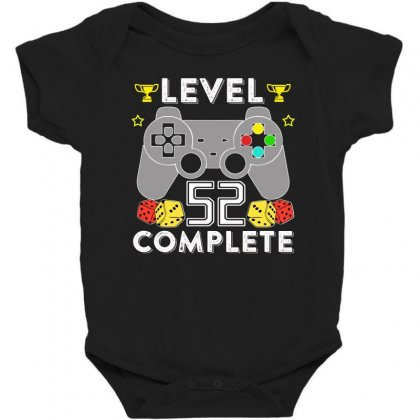 Level 52 Complete T Shirt Baby Bodysuit Designed By Hung