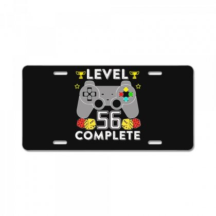 Level 56 Complete T Shirt License Plate Designed By Hung
