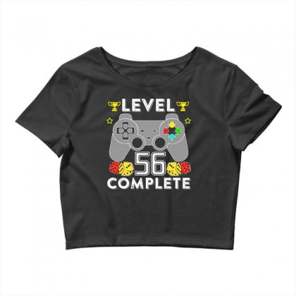 Level 56 Complete T Shirt Crop Top Designed By Hung