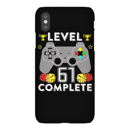 Level 61 Complete T Shirt Iphonex Case Designed By Hung
