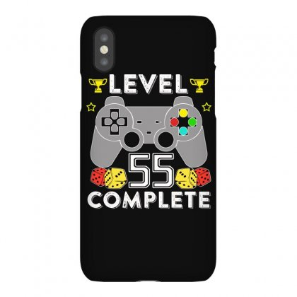 Level 55 Complete T Shirt Iphonex Case Designed By Hung