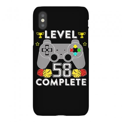 Level 58 Complete T Shirt Iphonex Case Designed By Hung