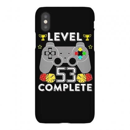 Level 53 Complete T Shirt Iphonex Case Designed By Hung