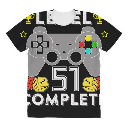 Level 51 Complete All Over Women's T-shirt Designed By Hung