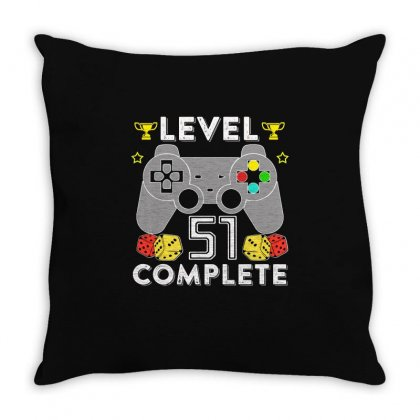 Level 51 Complete Throw Pillow Designed By Hung