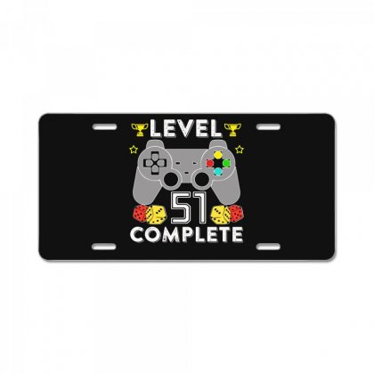 Level 51 Complete License Plate Designed By Hung