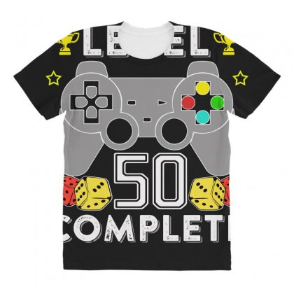 Level 50 Complete All Over Women's T-shirt Designed By Hung