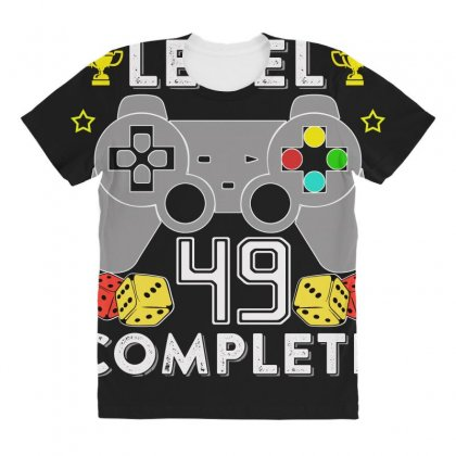 Level 49 Complete All Over Women's T-shirt Designed By Hung