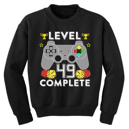Level 49 Complete Youth Sweatshirt Designed By Hung
