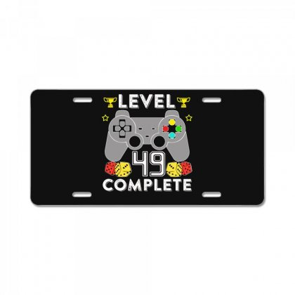 Level 49 Complete License Plate Designed By Hung
