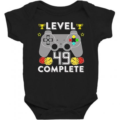 Level 49 Complete Baby Bodysuit Designed By Hung