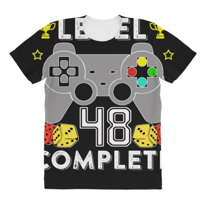 Level 48 Complete All Over Women's T-shirt Designed By Hung