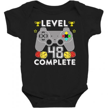 Level 48 Complete Baby Bodysuit Designed By Hung