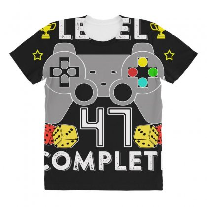 Level 47 Complete All Over Women's T-shirt Designed By Hung