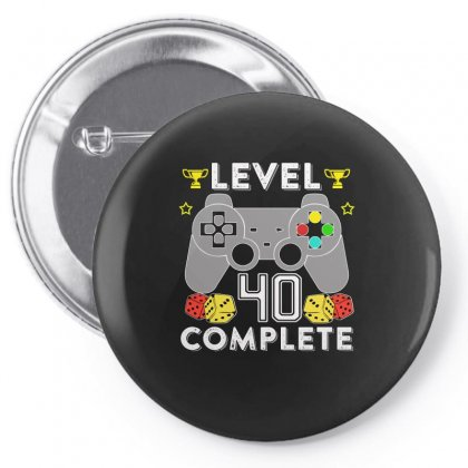 Level 40 Complete Pin-back Button Designed By Hung