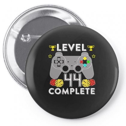 Level 44 Complete Pin-back Button Designed By Hung