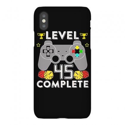 Level 45 Complete Iphonex Case Designed By Hung