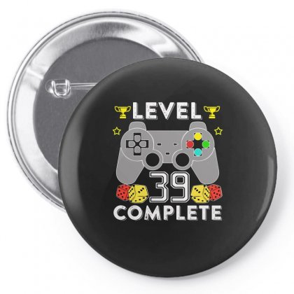 Level 39 Complete Pin-back Button Designed By Hung