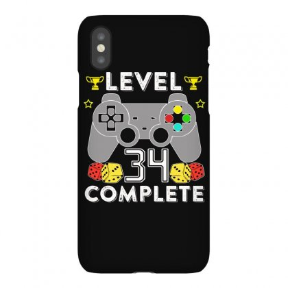 Level 34 Complete Iphonex Case Designed By Hung